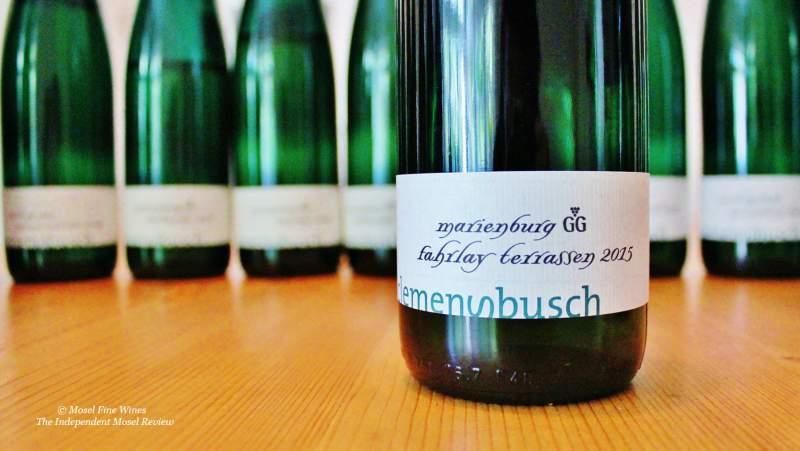 Terrassen  Weingut Clemens Busch Pündericher Marienburg Fahrlay Terrassen ...
